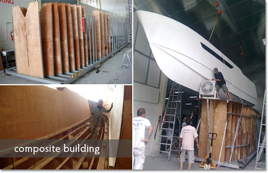 Composite Boatbuilding at Precision Shipwright, Phuket